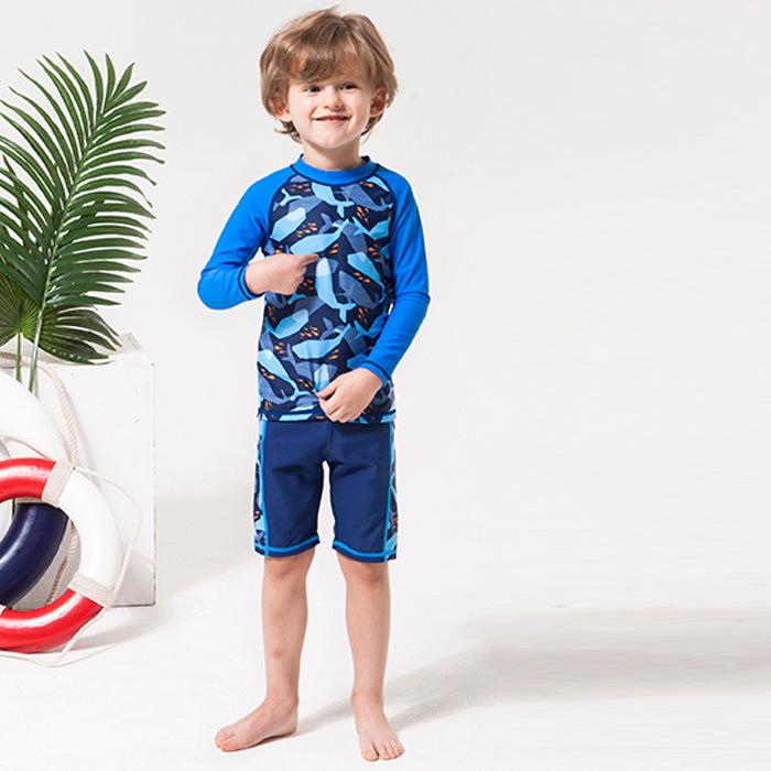 7f7c1efee الكورية نمط طفل الفتيان ملابس السباحة للأطفال المايوه من الصين ...