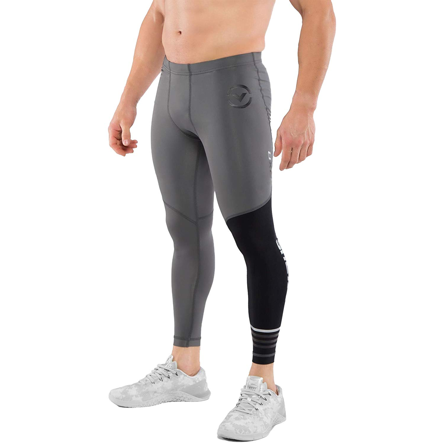 8f1825f92d Get Quotations · Virus Stay Cool Compression RX8 Tech Pant - Charcoal-Black  - X-Large