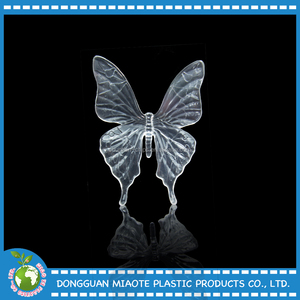 New Hot Sale Acrylic Crystal Of Big Butterfly for Gifts & Crafts ,Crystal Crafts, Flying Animals