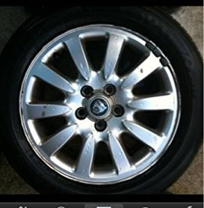 Oem Jaguar X-type 02-08 10 Spoke Rim W/tire C2s2372