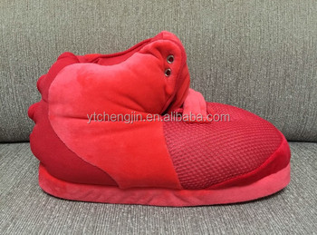 242963b6719 Promotional Air Yeezy 2 Red October Cotton Slippers In Bulk - Buy Air Yeezy  Slippers