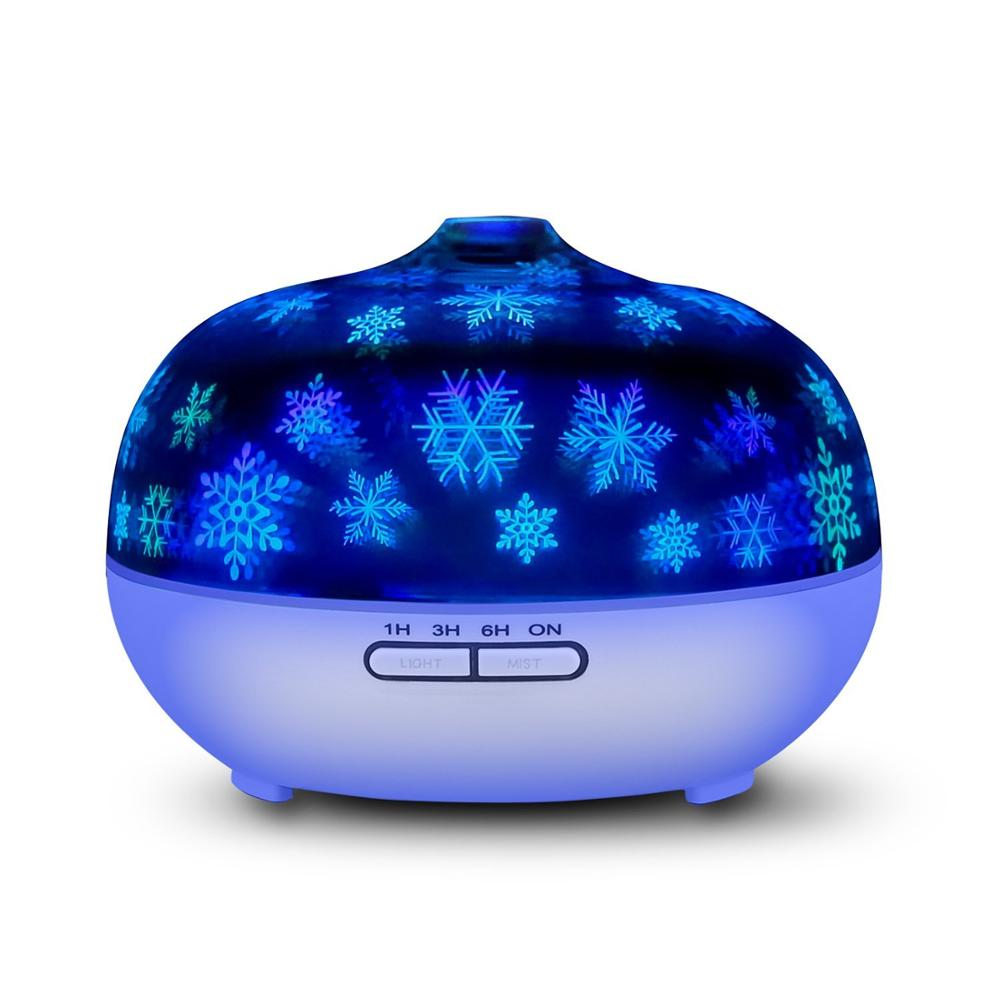 fireworks  glass  mist maker Color light  aroma electric ultrasonic scented oil diffuser