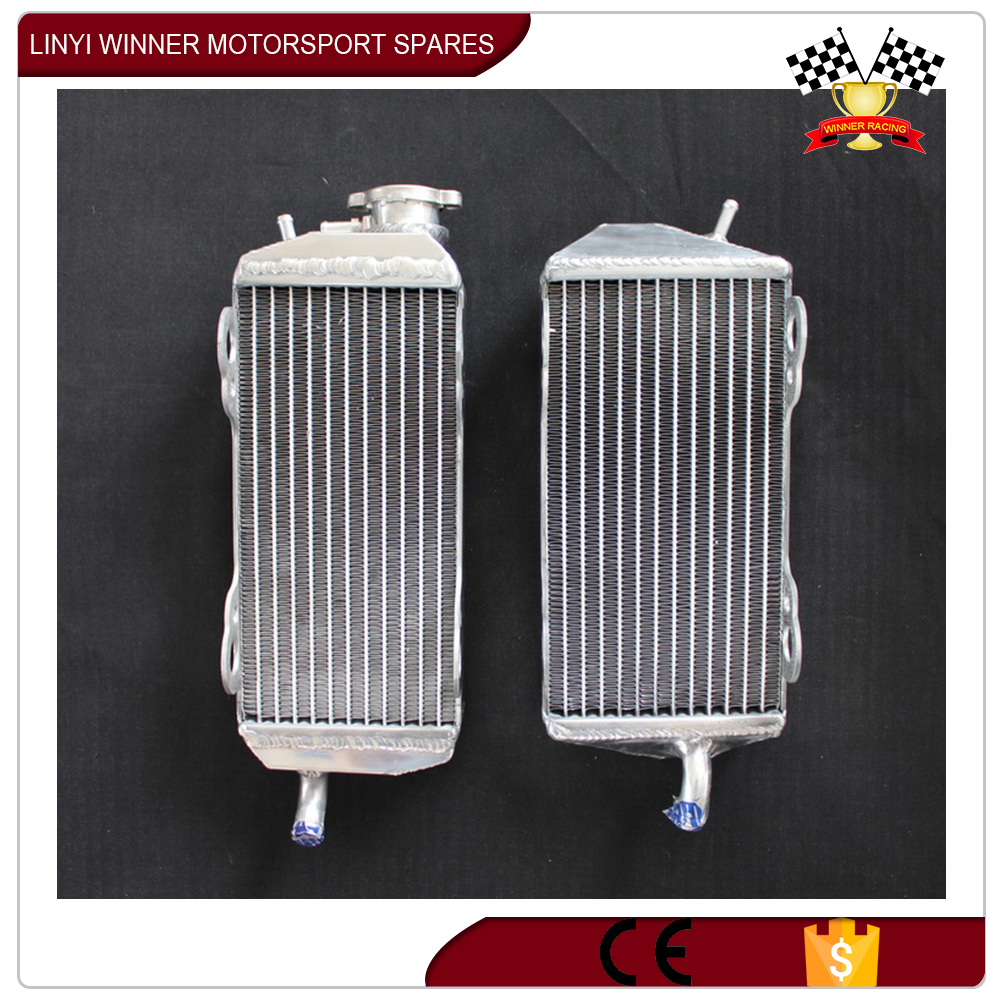 china small motorcycle aluminium tube radiator
