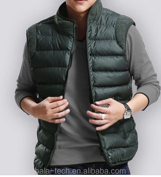 Heated Motorcycle Vest With Sleeves Adjustable Size From 42 To 48