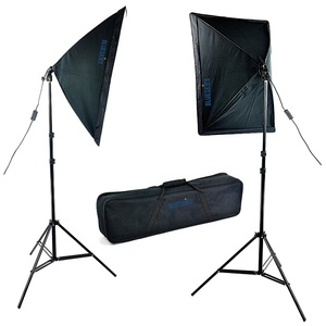 Photography Softbox Continuous Lighting Kit for Photo Studio Video