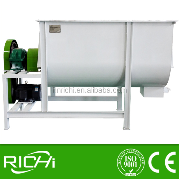 small horizontal ribbon mixer, Animal Feed Mixer