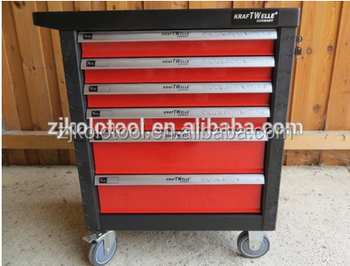 6 Drawers Hot Sale Kraft Tool Roller Cabinet In Tool Box Trolley