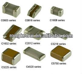 Yageo Smd Multilayer Ceramic Capacitor Cc1812kkx7r0bb105 (4532 ...