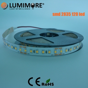 Blacklight Cuttable 95 Cri 24 Volt Ul Listed Epistar 14.4w/m Bendable Smd Constant Current Sequential 2835 Light Led strip