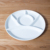 Special and modern shape porcelain plates porcelain different shapes white Chinese porcelain