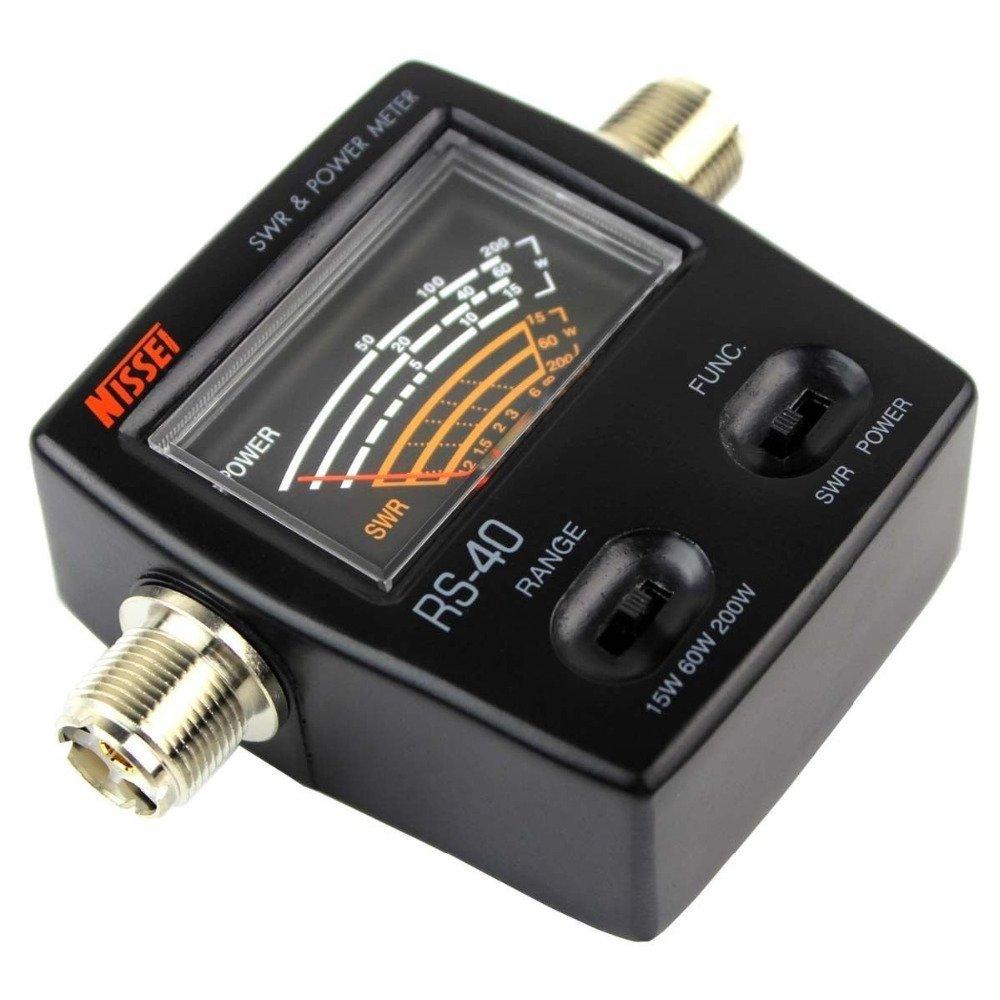 NISSEI RS-27 SWR POWER Meter 26-30 MHz Up tp 1000 Watts ROR CB HAM RADIO