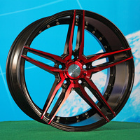 15 16 18inch staggered concave alloy wheel rim for car from factory Luistone Wheel 819