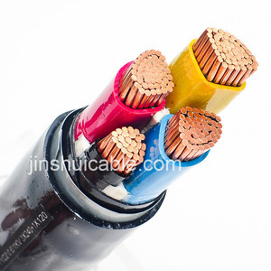 Underground cable steel wire type armoured copper power cable