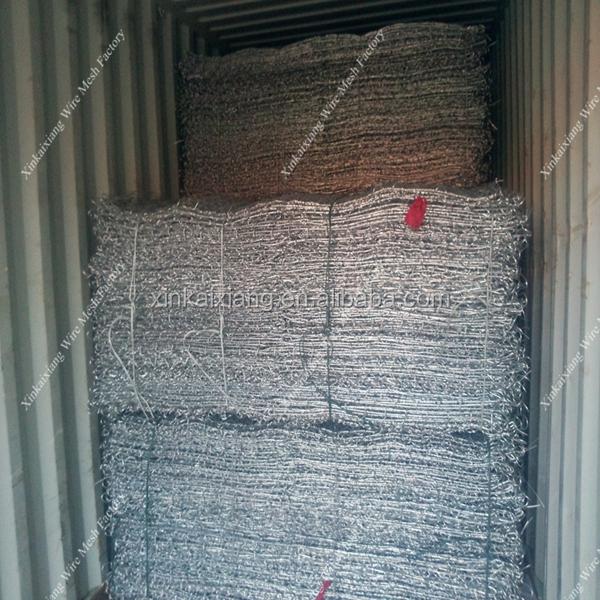 Gabion wire mesh rock basket retaining walls