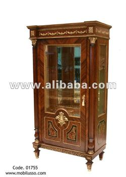 A Very Fine French Antique Vitrine Style Display Cabinet