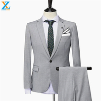 Hight quality making new arrival formal pant suits weddings latest design for men 2 piece suit