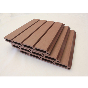 Wood plastic composite exterior wall cladding