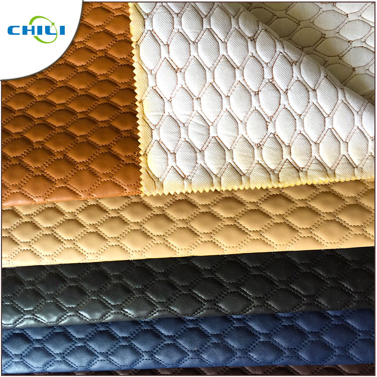 Shoe And Bags Making Material Nonwoven Backing Anti-Mildew Pvc Artificial Leather