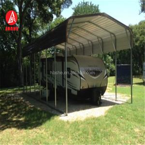 Steel square tube frame lowes metal carports with cheap price