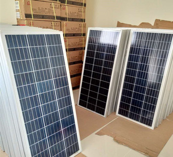 100w 150w 200w 240w 300w Polycrystalline Solar Panel To