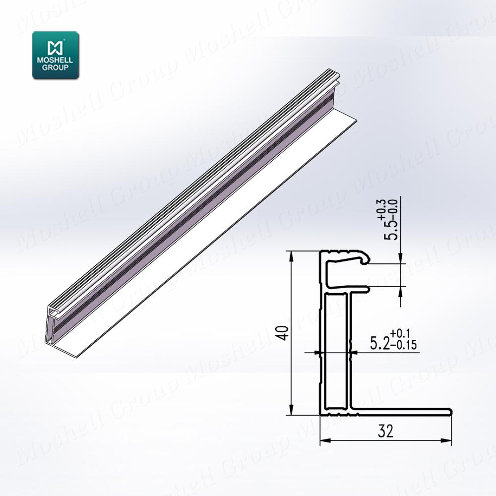 China Snap Aluminum Frame Profile, China Snap Aluminum Frame Profile ...