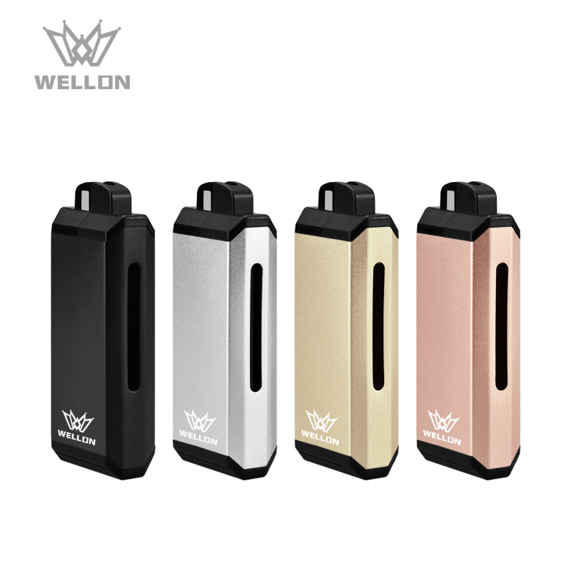 Original vape pod manufacturer Wellon Ripple Refillable vape pods with 650mah battery