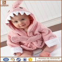 Animal baby hooded bathrobe bamboo bath sheet with hat