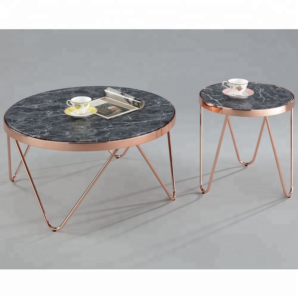 - Marble Top Coffee Table Sets - Buy Modern Tempered Glass Coffee