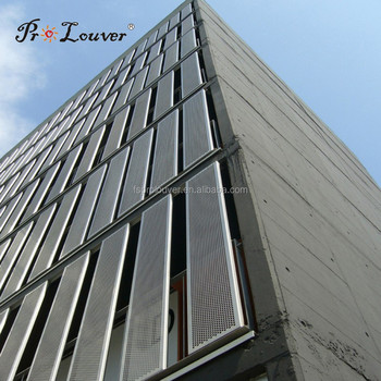 Perforated Metal Wall Cladding Panel