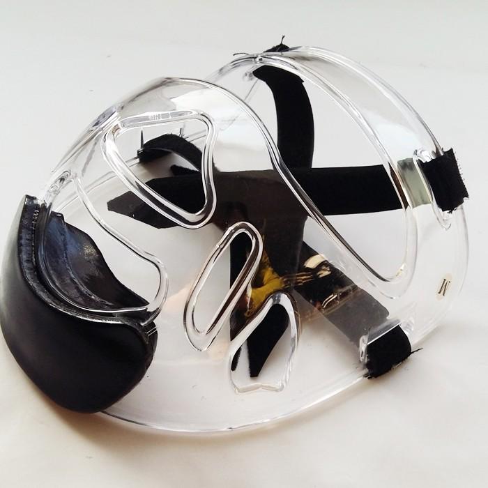 Face Shield for Sparring Gear Head Guard Helmet Karate Tkd Clear Mask