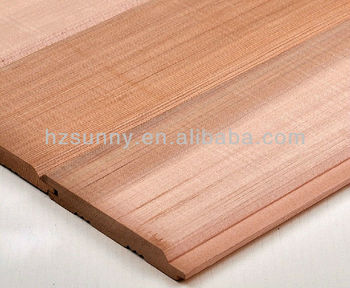 Canadian Cedar Wood Wall Paneling Western Red Panel Product On Alibaba