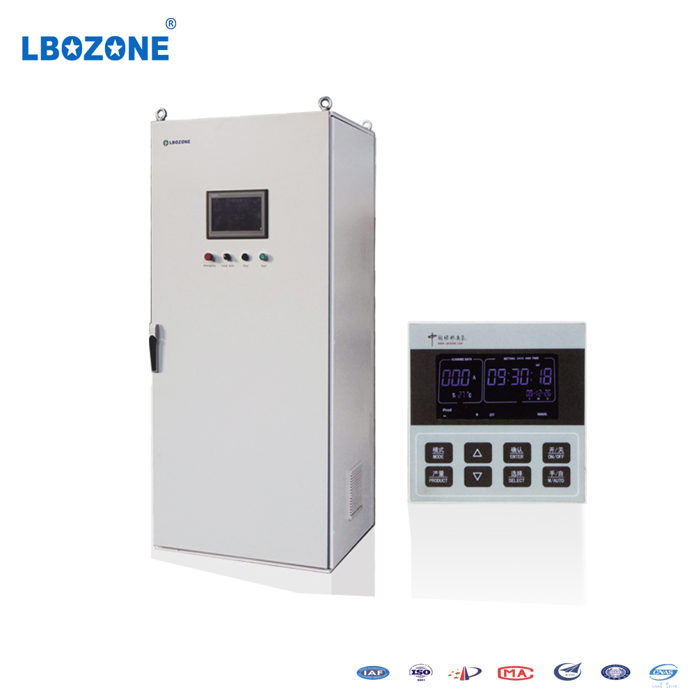 ozone sterilizer machine vegetable / bottle ozone water washing