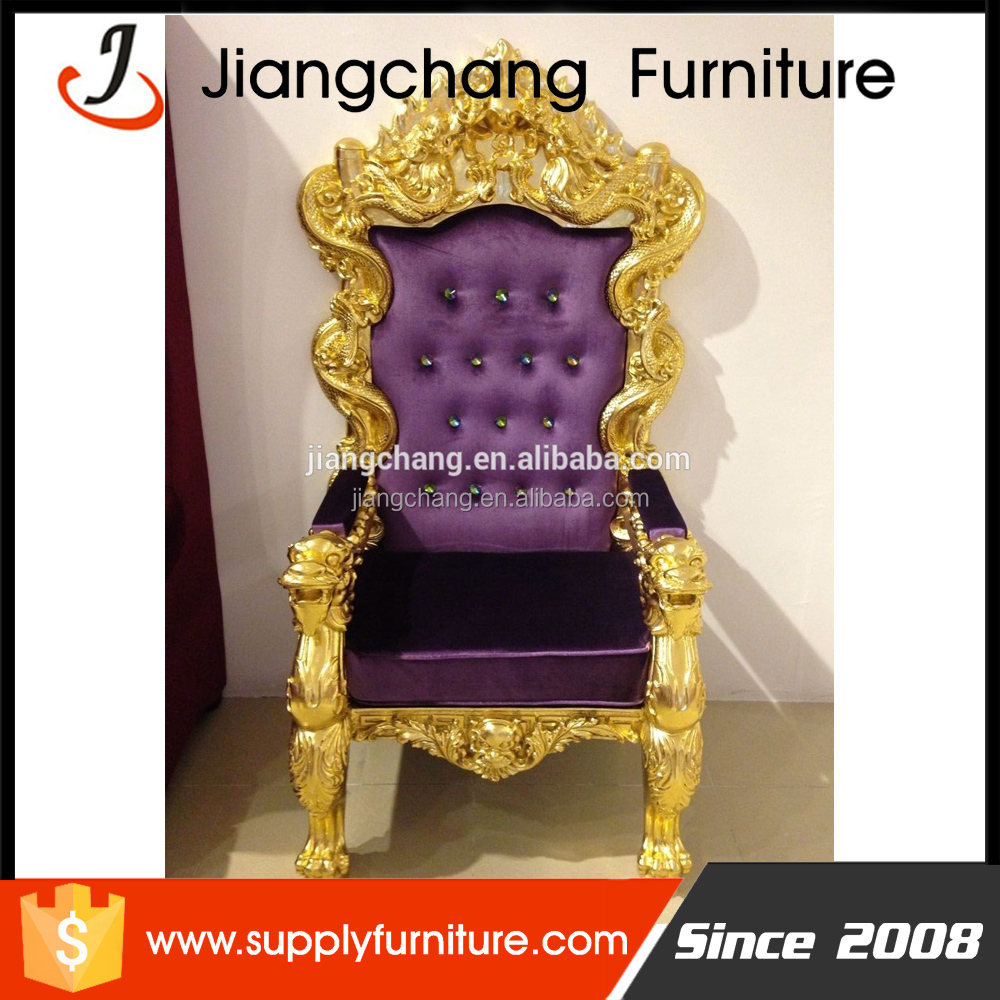Antique Gold King Throne Chair For Sale Jc-k74 - Buy Gold King Throne Chair, Antique Gold King Throne Chair,Gold King Throne Chair For Sale Product on  ... - Antique Gold King Throne Chair For Sale Jc-k74 - Buy Gold King