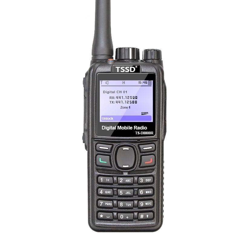 Amazon Hot Sale IP66 TS-D8800Rdmr vhf uhf Time Slot II DMR UHF VHF, dmr radio Wholesale in China фото