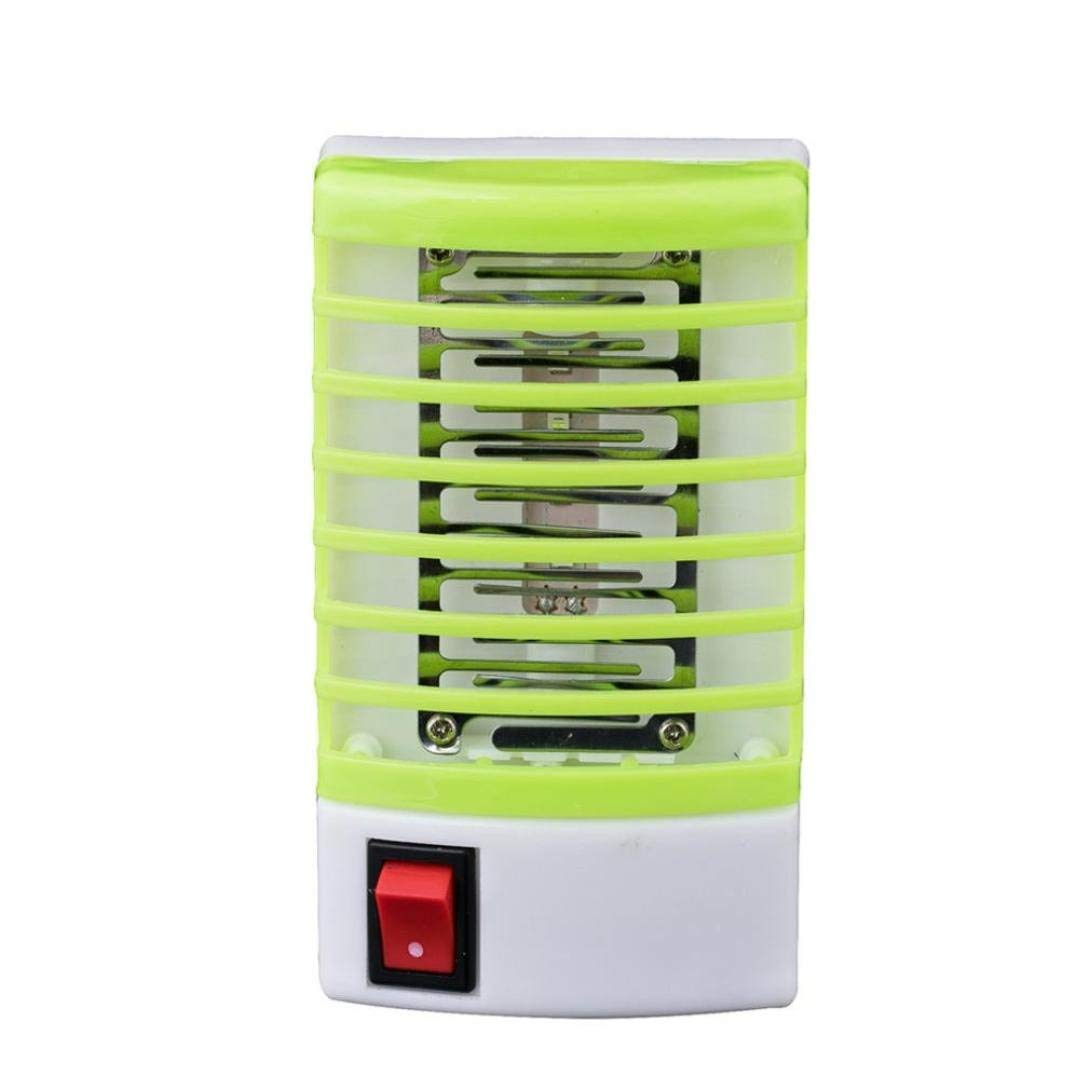 LED Electric Mosquito Fly Bug Insect Trap Zapper Killer Night Lamp USA Plug LU