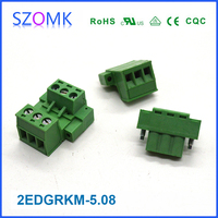 Chinese Manufacture Diy Small Clamping Cage Male Terminal Block ...