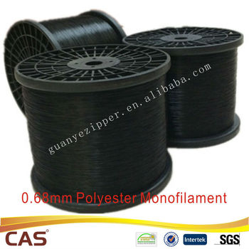 0.68mm for Black Nylon Teeth Nylon Monofilament Yarn
