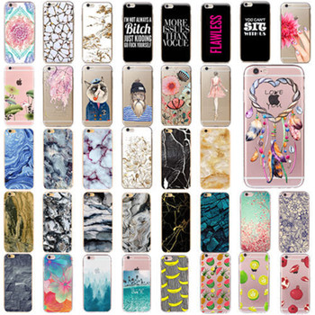 Customized printing pattern Soft Tpu Ultrathin Cell Phone Case For Iphone 6S Plus Cover Mobile Phone Cover For Iphone 7 8 Case