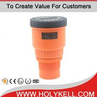 HOLYKELL level measurement instruments 4-20ma ultrasonic fuel level sensor for tanks
