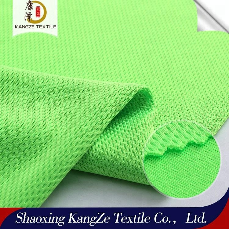High Quality Dri Fit Bird Eye Mesh Sports Wear Knit Fabric From China Factory