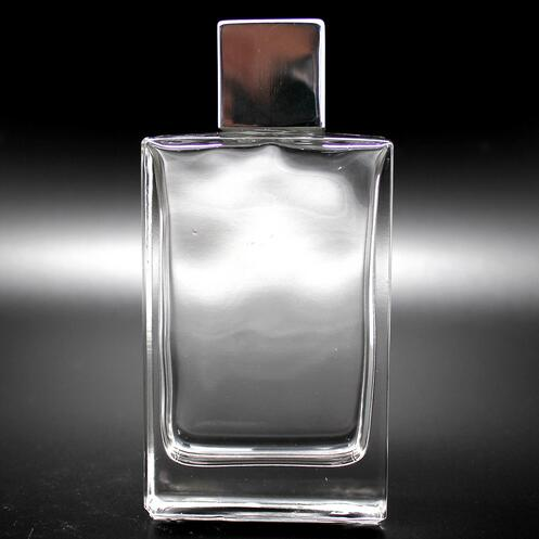 100ml lady clear square perfume bottles