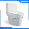 Ceramic bathroom one piece toilet parts
