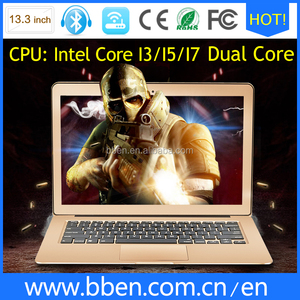 cheap laptops doe sale 13 inch computer windows 8 1920*1080 laptop notebooks dual core I3 4G RAM 128G SSD for macbook pro apple