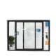 Best price aluminum window office interior sliding windows with mosquito nets