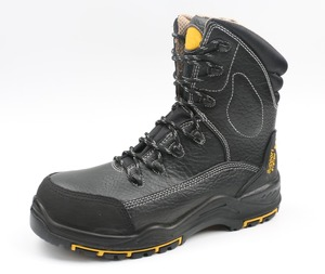 S3 feature industrial work winter black rigger safety shoes/boots
