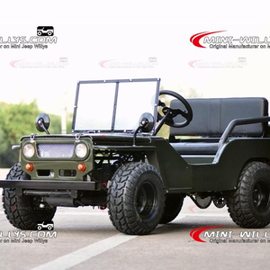 Big Discount 110cc/150cc Mini Moke willys 4x4 for Sale with 4 Stroke Engine