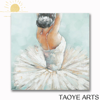 Dance abstract oil painting modern dance oil painting