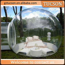 Most popular inflatable bubble tent bubble room hotel for sale