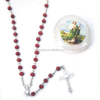 religious european style rose scented rosary catholic rosary supplies necklace