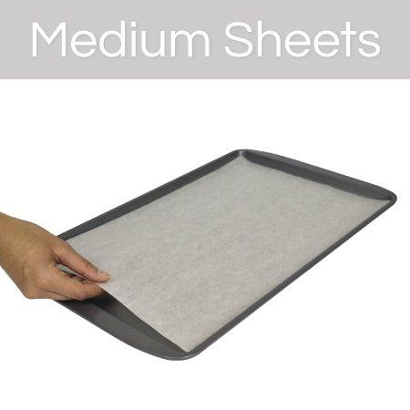 The Smart Baker Medium 10 x 15 inches Perfect Parchment Paper - Pre-Cut Parchment Paper Baking Sheets